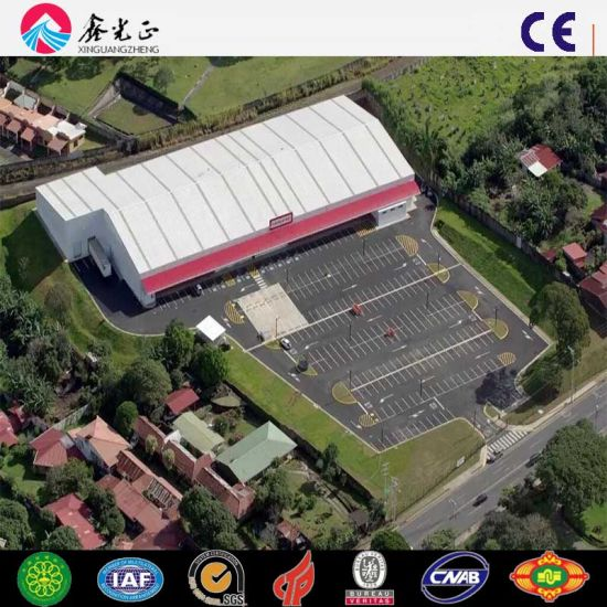 Prefabricated Steel Structure Building Material Steel Hangar Warehouse Plant (Q345B/Q235B)