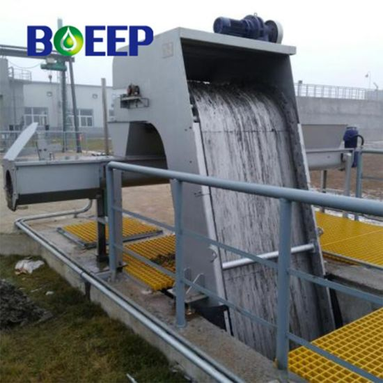 Sewage Treatment Plant Mechanical Trash Rake Water Bar Screen Filtration