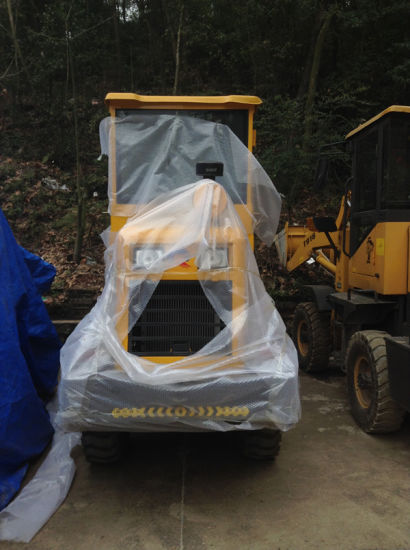 Pully Manufacture 1.8 T Capacity Mini Backhoe Wheel Loader (PL916) pictures & photos