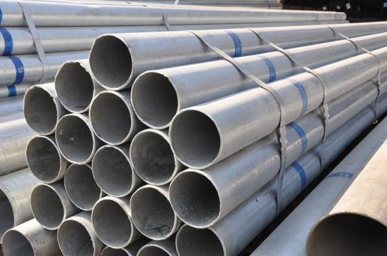 Q345 Round Steel Pipe Tube High Pressure Vessel pictures & photos