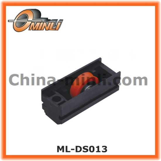 Adjustable Nylon Housing Window Roller Pulley with Double Wheel (ML-DD004) pictures & photos