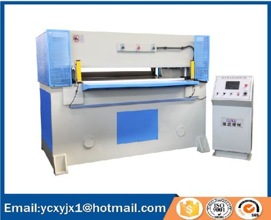 150t Auto-Feeding Plane Cutting Press for Leather