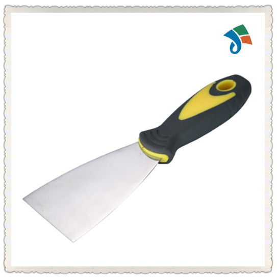 TPR Handle Stainless Steel Scraper Putty Knife