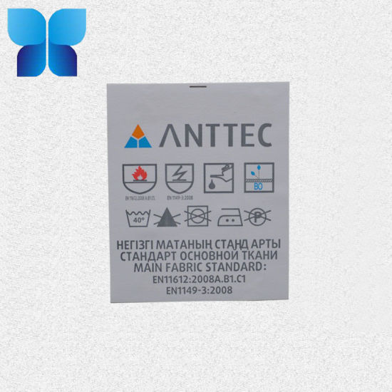 Factory Non-Woven Fabric Printing Label for Clothing