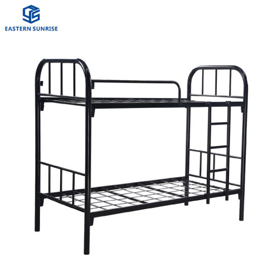 China Low Price Cheap Adult Metal Double Bunk Beds China Bunk Bed Double Bed