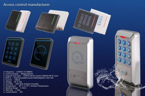 RFID Card Reader Access Control System Access Control pictures & photos