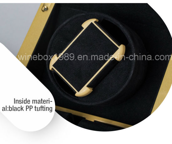 High-End MDF Metallic Appearance Watch Gift Box pictures & photos