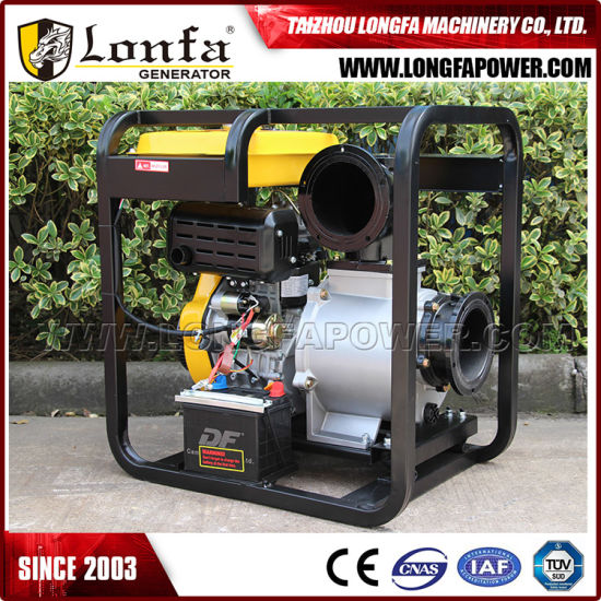 192f 15HP Engine Electric Start Agricultural Irrigation 6 Inch Diesel Water Pump pictures & photos