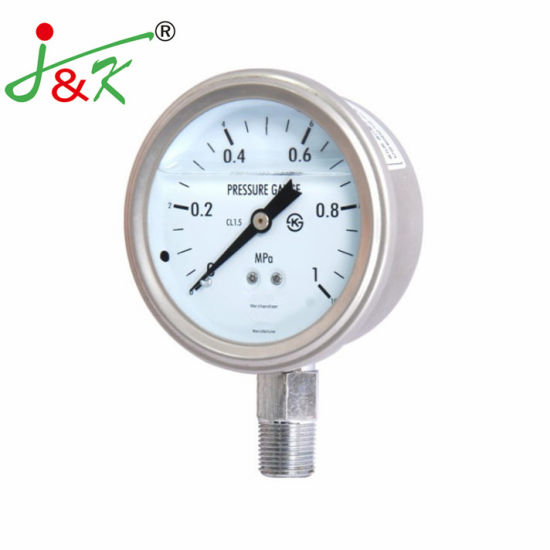 Accuracy 1.5% Pressure Gauge for Exporting with Ce