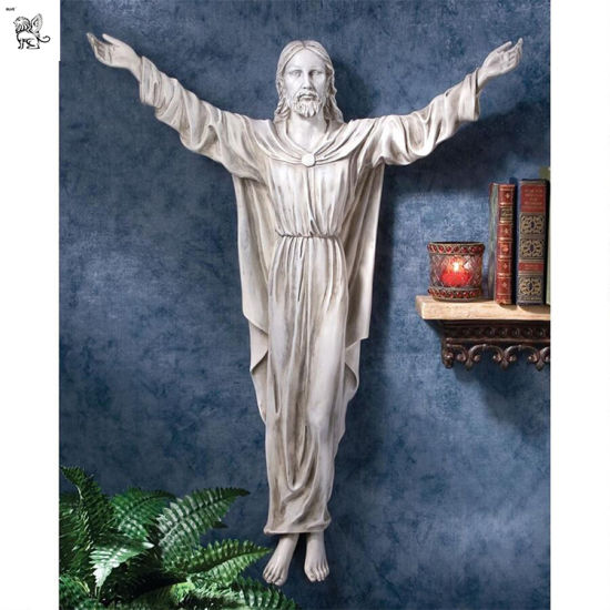 Factory Manufacture The Benediction of Jesus Wall Sculpture Mfsy-87