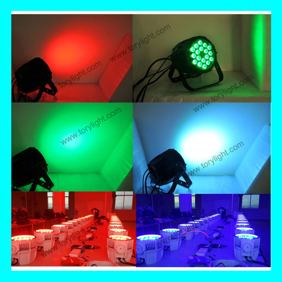 Stage Equipment LED PAR Waterproof 18*12W pictures & photos