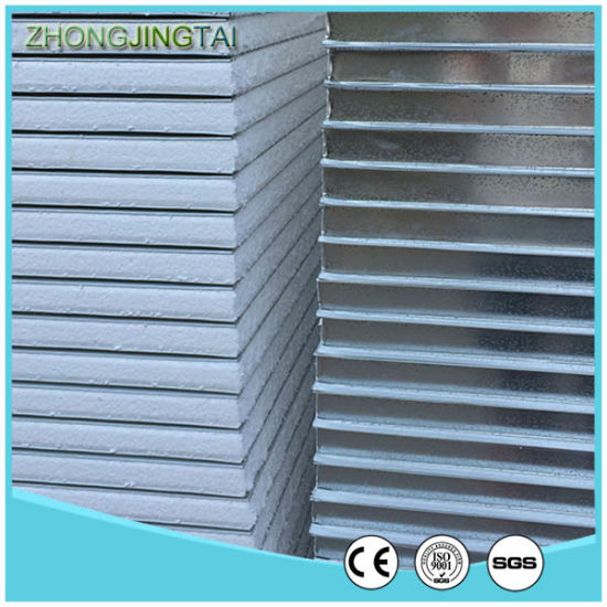 Color Coated Steel Insulated Polystrene Sandwich Wall Panel pictures & photos