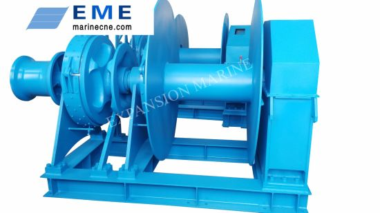 Marine Anchor Windlass Anchor Winch Combination Mooring Winches for Vessel