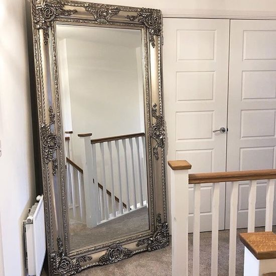 China Antique Carved Louis Style Large Leaner Floor Mirror China Frame Mirror And Wall Mirror Price