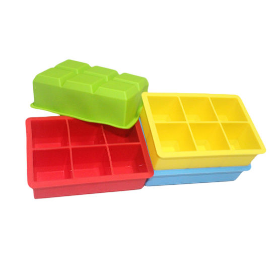 Manufacturer Wholesale Beer Ice Cube Trays Silicone Square Ice Cube Tray Mold pictures & photos