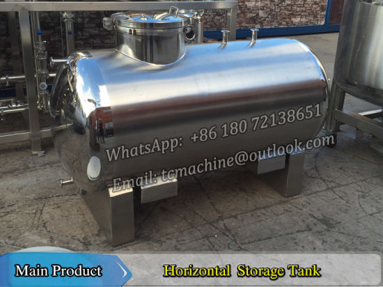 Vodka Storage Tank Stainless Steel Storage Tank 10t Fermented Wine Storage Tank 10, 000liter Distilled Wine Storage Tank for Bottling Line pictures & photos