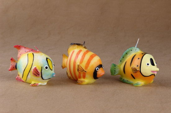Cheap Price Custom Fish Shaped Candle for Buring
