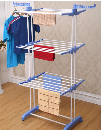 Telescopic Drying Clothes Rack pictures & photos