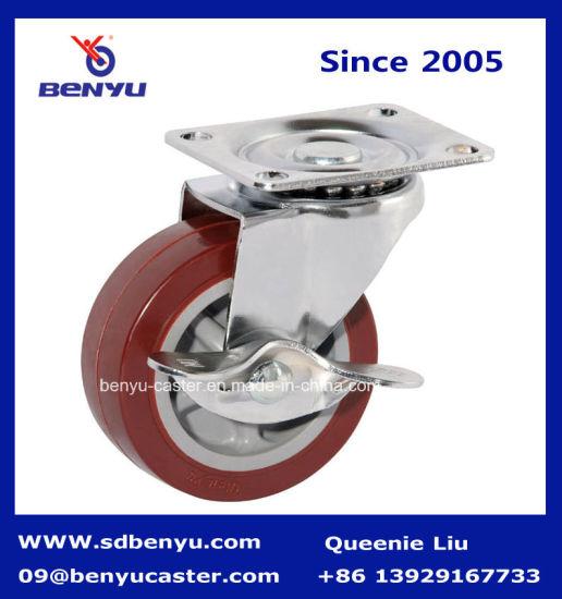 Light Duty Plain Lockable Wheel Roller