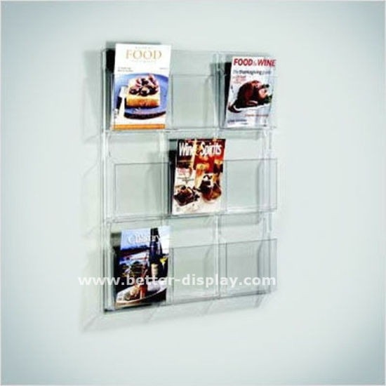 Clear Acrylic Wall Hanging Storage File Organizer
