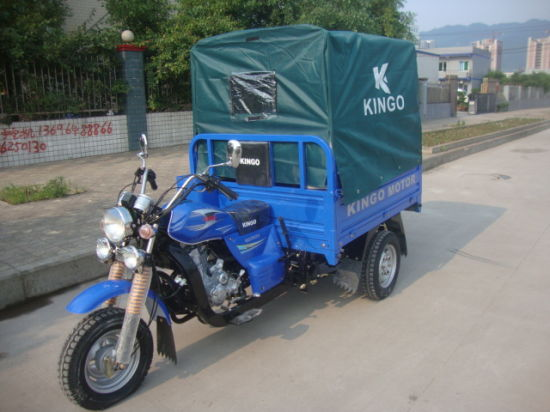 2015 Close Driver Cabin Tricycle Three Wheel Motorcycle pictures & photos