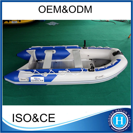 Sports Inflatable Boat with Aluminum Deck, Plywood Deck or Airmat Deck
