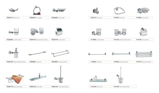 Wall Mounted Bathroom Accessory Set Pictures Photos
