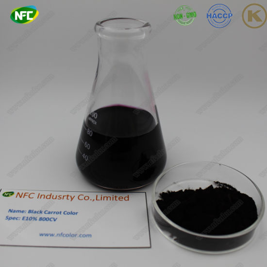 Natural Plant Extracts Black Carrot Color Concentrate Powder