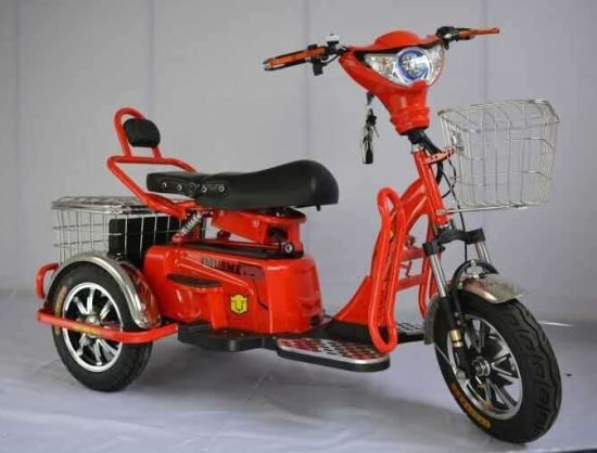 Electric 3 Wheel Scooter Motorcycle pictures & photos