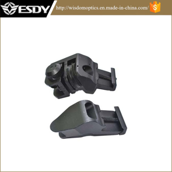Ar15 Front and Rear 45 Degree Rapid Transition Buis Backup Iron Sight
