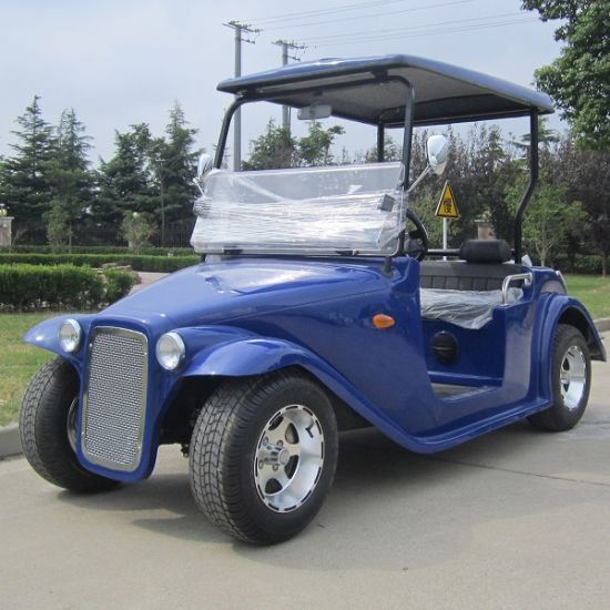 4 Seat 48 Volt Electric Brands of Golf Carts Dn-4D with CE pictures & photos