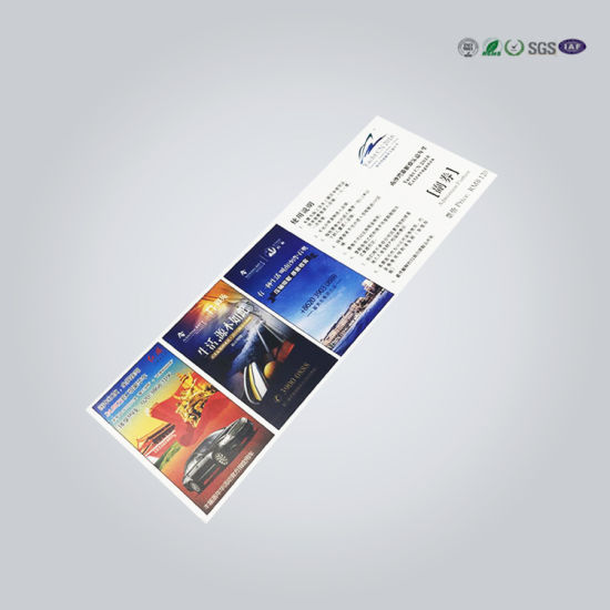 china event ticket thermal transfer printing rfid paper tickets