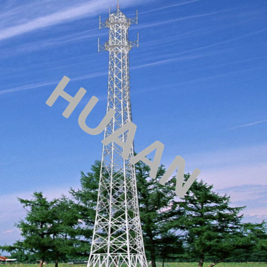 Latticed Galvanized Self-Support Telecom Steel Tower pictures & photos