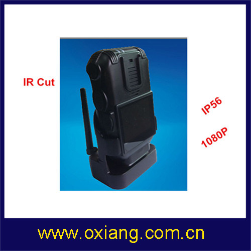 Waterproof GPS GPRS Police Body Worn Camera DVR (OX-ZP610) pictures & photos