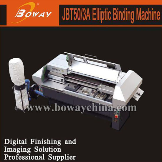1500 Book/Hour High Speed Industrial Elliptic Perfect Binding Machine Jbt50/3A pictures & photos