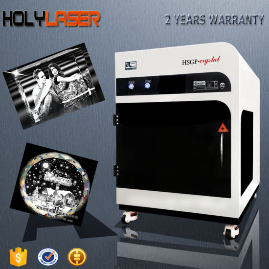 Small Business Personalized Customized Gifts 3D Crystal Laser Engraving Machine pictures & photos