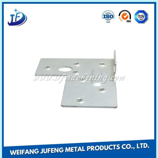 Customized/OEM Sheet Metal Fabrication Parts with White Powder Coating pictures & photos