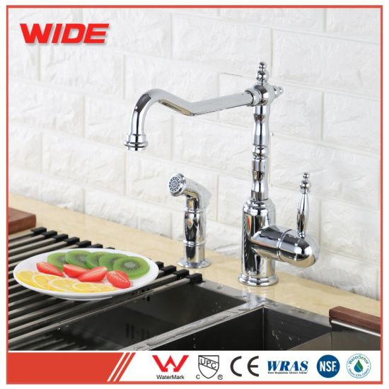 China Weixiang Cupc Approved Kitchen Sink Tap Bridge Style Kitchen ...