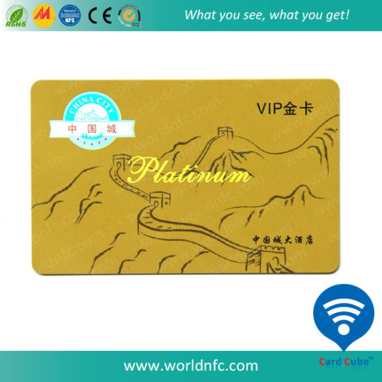 Cheap Price RFID Standard Plastic Smart Contactless Card pictures & photos