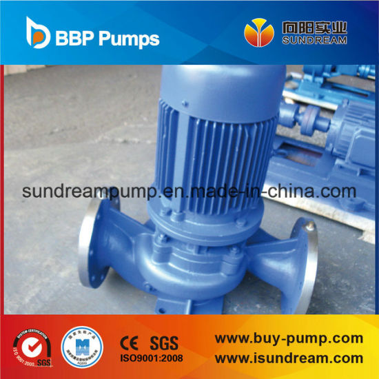 Vertical Cold and Hot Water Pipeline Pump pictures & photos