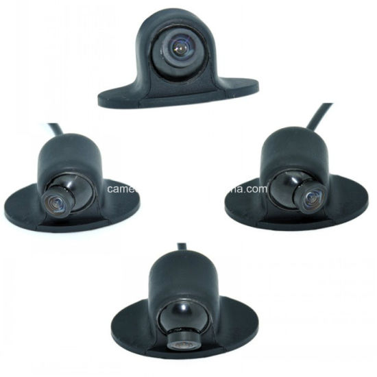 Mini CCD HD 360 Degree Rotatable Rear View Car Mirror Side View Camera pictures & photos