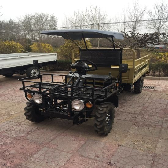 Diesel Power Air Cooled off Road Hydraulic Tipper UTV ATV Farm pictures & photos