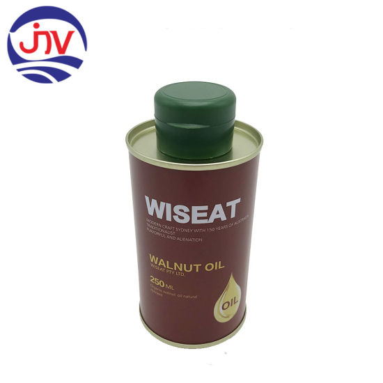 500ml and 1LTR Tin Packing for Edible Oil Container