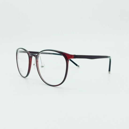 in Stock Plastic Steel Fashion Hot Selling New Style Light Eyeglasses Optical Frames Spectacle pictures & photos