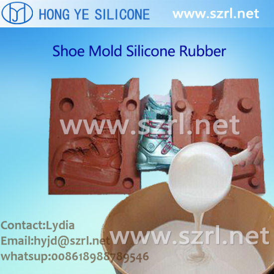 High Quality Liquid Shoe Rubber Molding Silicon--Cheap Price!