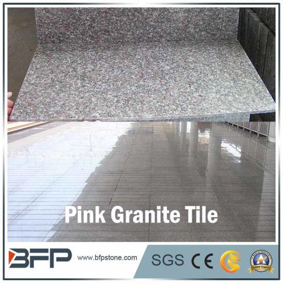 China Cheap Pink Dark Stone Floor Tile Granite For Floor Wall