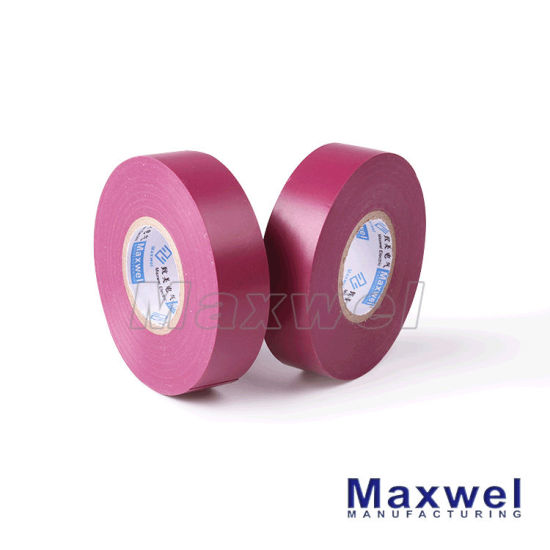 High Quality PVC Insulation Tape for Electrical Rubber Tape pictures & photos
