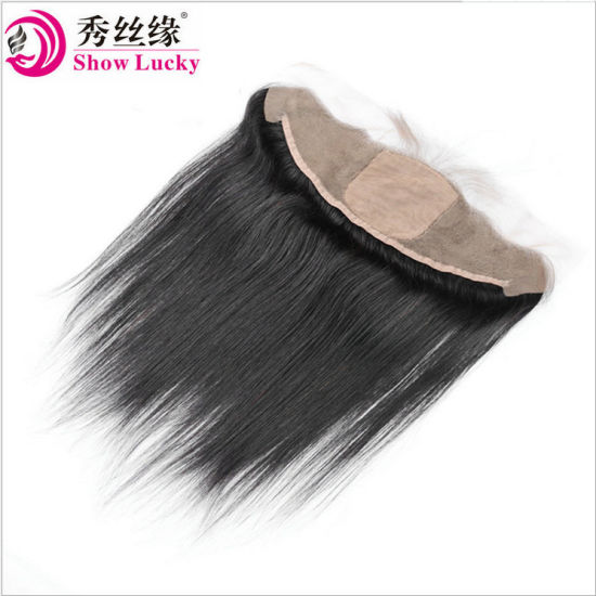 Best Selling Wholesale Filipino Lace Bace 13X4 Frontal Silk Base Frontal Straight Hair