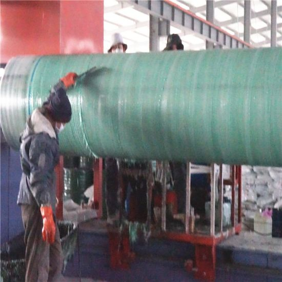 Collapsible GRP FRP Mandrels for Large Diameter GRP Pipes Mould