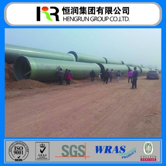 Glassfiber Composite Material Pipe (GRP / FRP Pipe) pictures & photos